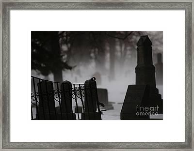 Stones Framed Print by Linda Shafer