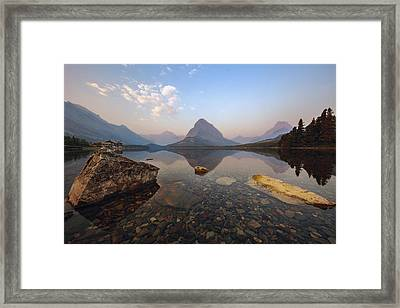 Stones Framed Print by Mike Lang