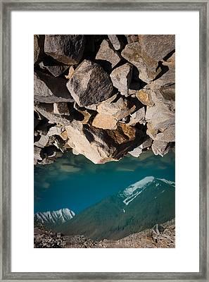 Stones Of Summits Framed Print by Konstantin Dikovsky