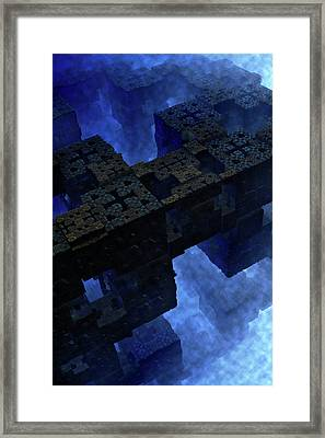 Stones Of Time Framed Print