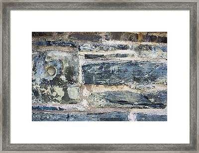 Stonewall - Abstract Framed Print