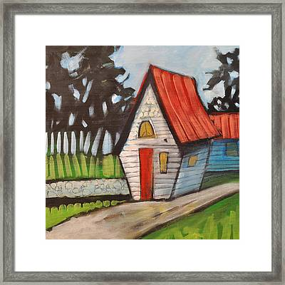 Stonewall Cottage Framed Print by Tim Nyberg