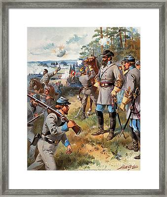 Stonewall Jackson, 1861 Framed Print by Granger