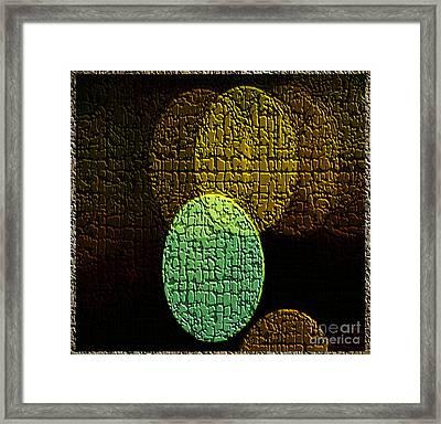 Stoneware Framed Print
