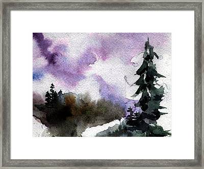 Stoney Creek Framed Print by Anne Duke