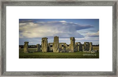 Stonhenge Framed Print by Brian Jannsen