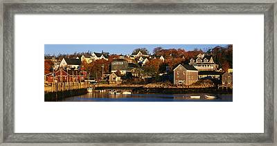 Stonington Me Framed Print by Panoramic Images