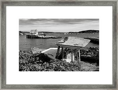 Stonington Memories Framed Print by Olivier Le Queinec
