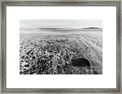 Stony Beach Framed Print by Masako Metz