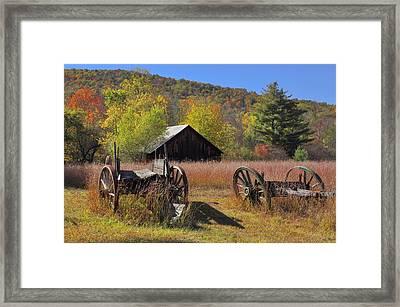 Stony Creek Farm Framed Print