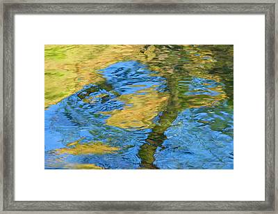 Framed Print featuring the photograph Stony Creek by Sherri Meyer
