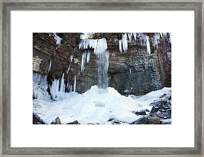 Stony Kill Falls In February #2 Framed Print