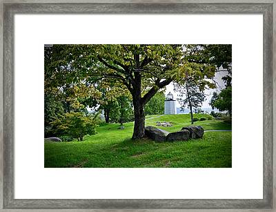 Stony Point Landscape Framed Print
