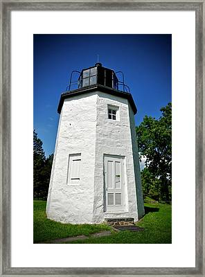 Stony Point Lighthouse Framed Print