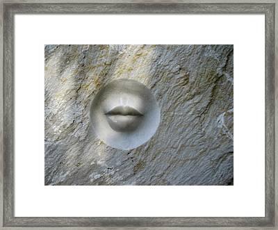Stony Silence Framed Print