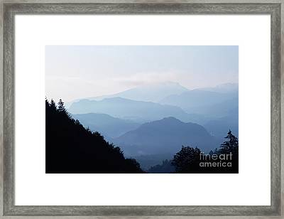 Stony Waves Framed Print by Pit Hermann