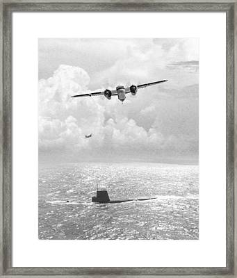 Stoof Over Sub Framed Print