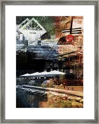 Stop In Wayzata Framed Print