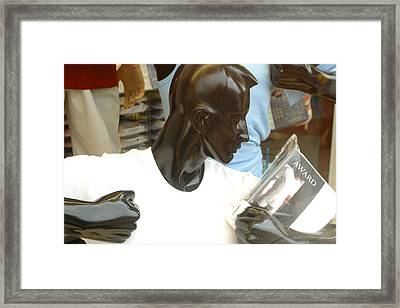 Stop It No Need Ever Framed Print by Jez C Self