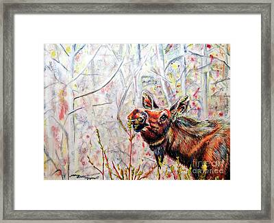 Stop To Smell The Weeds Framed Print by Tracy Rose Moyers