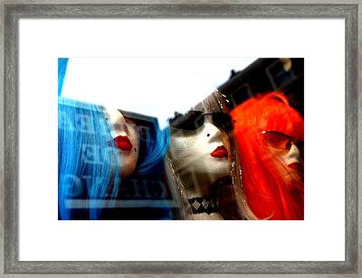 Stop Upsetting Us Framed Print by Jez C Self