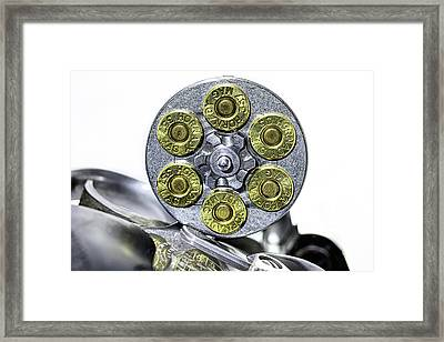Stopping Power Framed Print by JC Findley