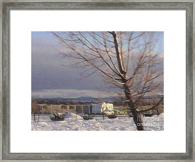 Storage Framed Print by Frederick Holiday