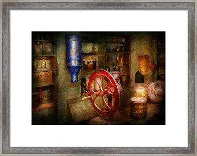 Store - Everything Is For Sale Framed Print by Mike Savad