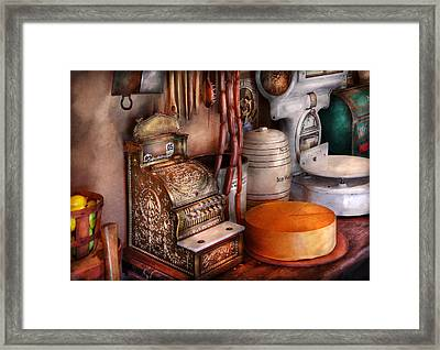 Store - The Old Deli  Framed Print