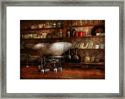 Store - A Place For Everything  Framed Print