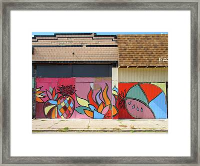 Store Front Art Framed Print by David Kyte