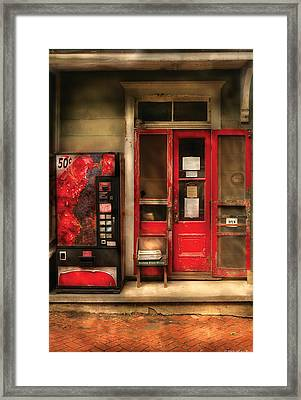 Store - Waterford Va - General Store Framed Print by Mike Savad