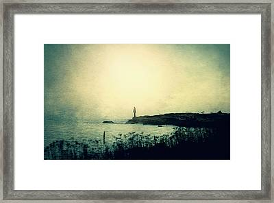 Stories From The Sea Framed Print