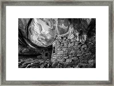 Stories In Stone Framed Print