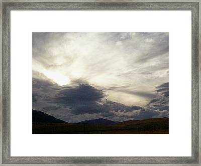 Storm 1 Framed Print by Jacquee Zehner