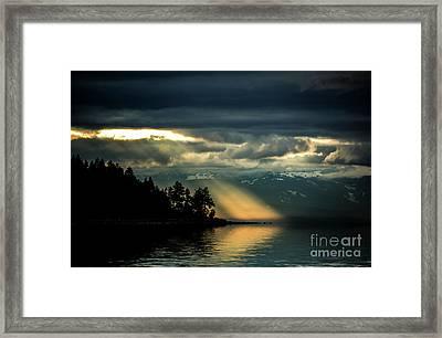 Storm 2 Framed Print