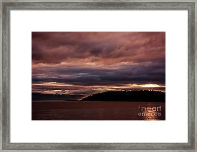 Storm 3 Framed Print