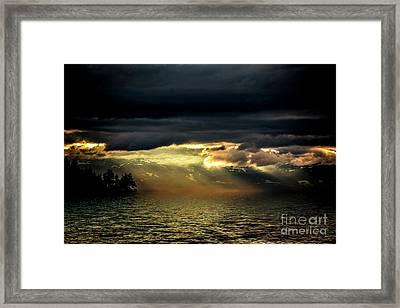 Storm 4 Framed Print