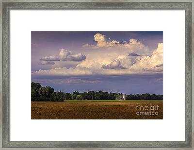 Storm A Coming Framed Print by Marvin Spates