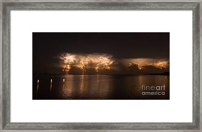 Storm Before Dawn Framed Print