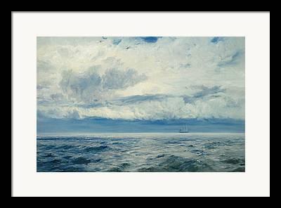 Calming The Storm Framed Prints
