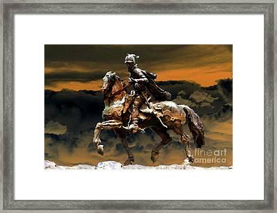 Storm Bringer Framed Print by David Lee Thompson