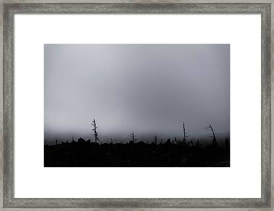 Framed Print featuring the photograph Storm by Cat Connor