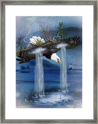 Storm Catcher Framed Print