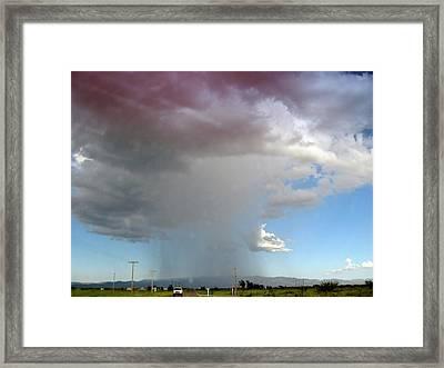 Storm Cell Framed Print