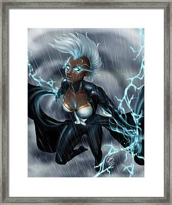 Storm Chaser Framed Print by Pete Tapang