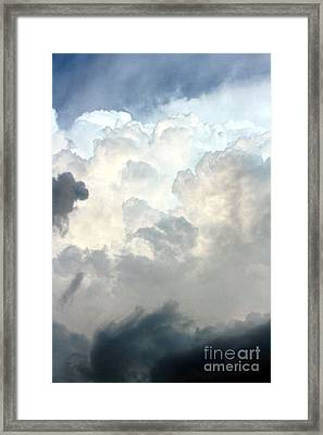Storm Clouds 1 Framed Print