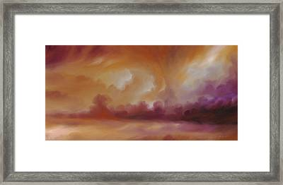 Storm Clouds 2 Framed Print by James Christopher Hill