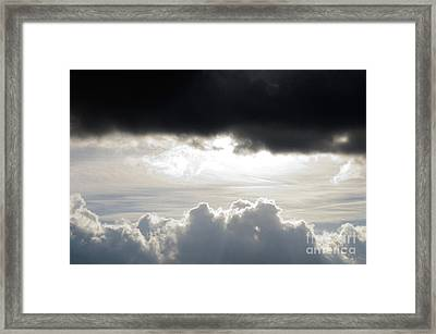 Storm Clouds 3 Framed Print by Andee Design