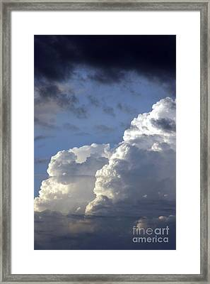 Storm Clouds 3 Framed Print
